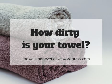 How dirty is your towel?