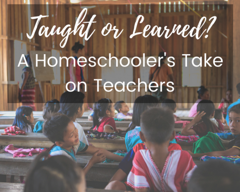 Taught or Learned? A Homeschooler's Take on Teachers